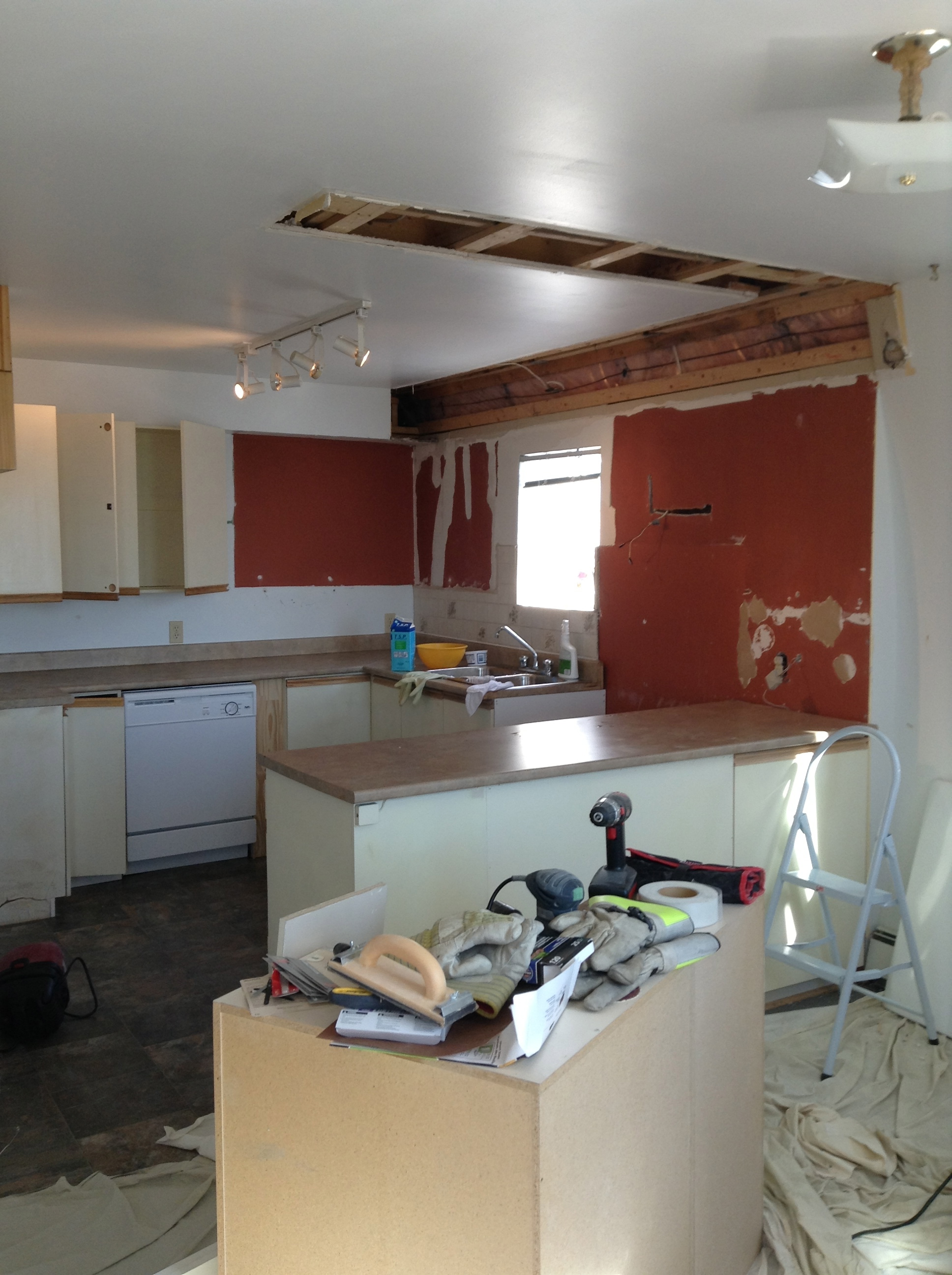 My Kitchen Gave Me Tennis Elbow How To Refinish Kitchen